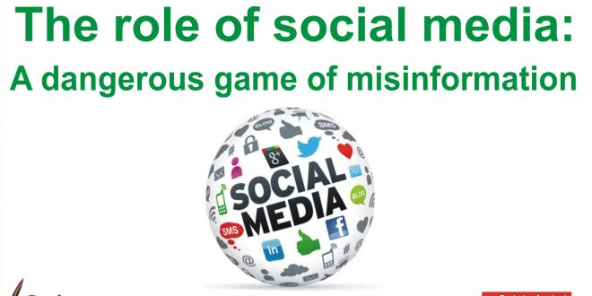 The role of social media: A dangerous game of misinformation