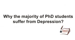 Why the majority of PhD Students